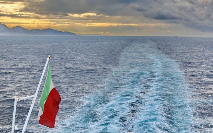 Navigando verso l'Italia