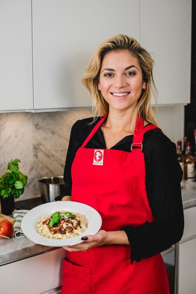 Recept: Italiensk version av falukorv och makaroner