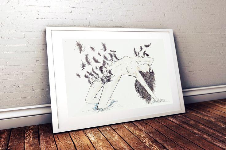 Swan Lake Illustrations on Behance
