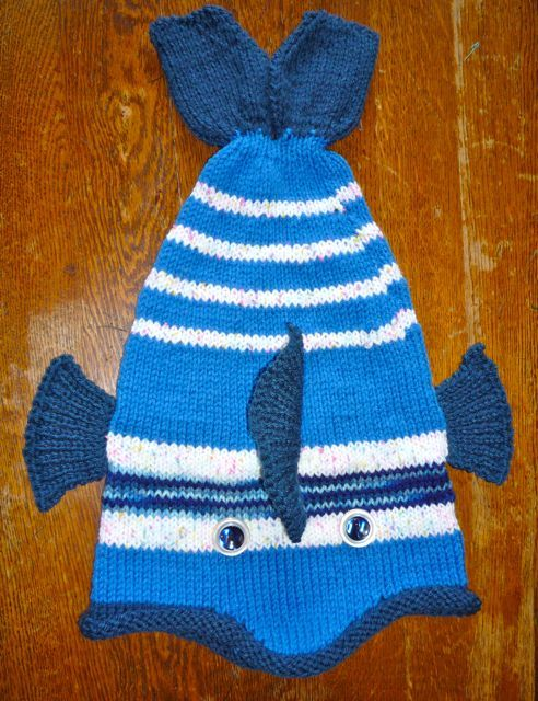 Knitting Pattern For Fish Hat : fish hat Knitting Pinterest Fish and Hats