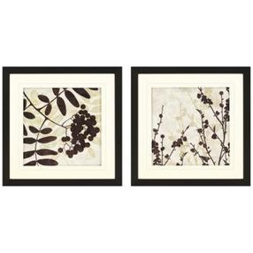 Set of Two Essential Elements I Framed Wall Art (N7947)