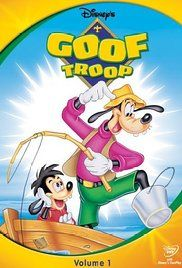 Goof Troop Poster, The classic Disney character, Goofy is a single father raising his son, Max in Spoonerville. Pete, a frequent antagonist from the old cartoons, lives next door with his family.