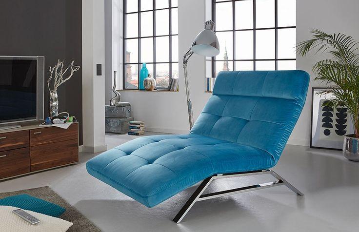 stilvolle Relaxliege Riviera | Beine hochlegen, entspannen und ab ins Paradies. #relax #petrol #MoebelLETZ