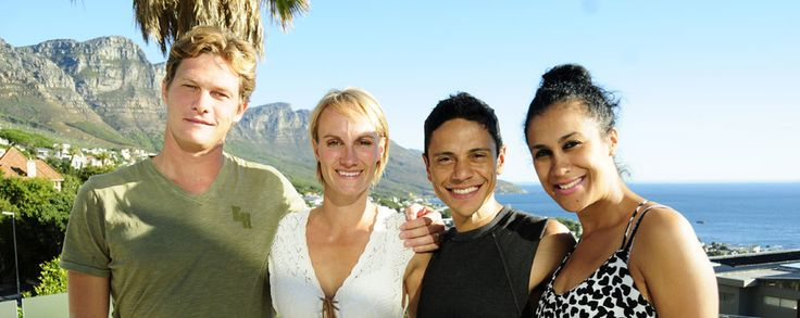 Your finalists for Power Couple SA are Dyllan and Viki Barselaar (left) and Emile and Razia Samson (right). To promote the show and its finally, and also give the South African public a chance to get to know them better - they would embark on a road show over the weekend across four cities, Port Elizabeth, Kwa-Zulu Natal, Johannesburg and Cape Town.