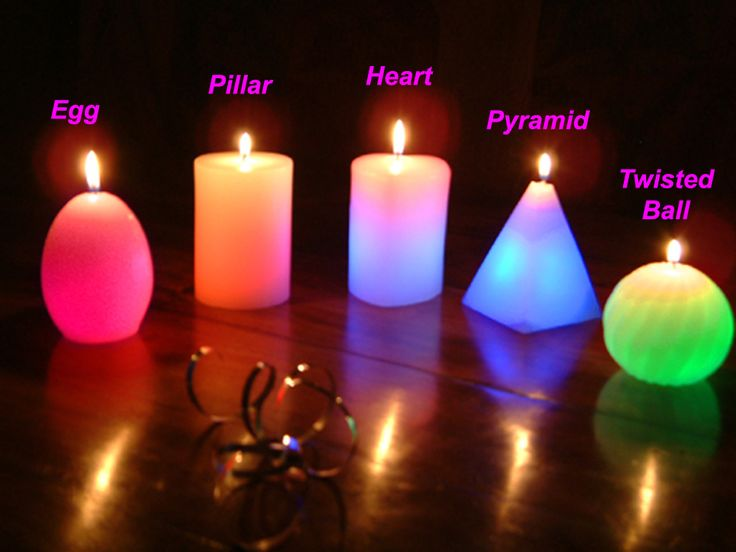 Image result for candle shapes and designs