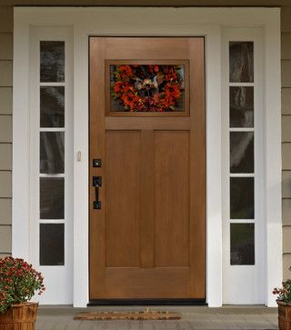 Craftsman Front Door with Sidelights   All Products / Floors, Windows & Doors / Doors / Front Doors