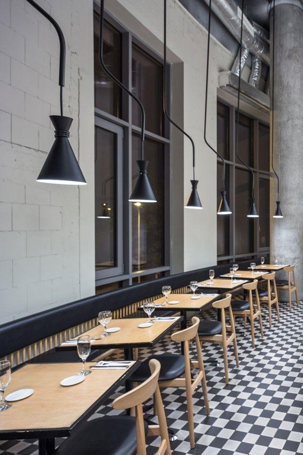 Anos 1950 inspiram este café, na Polônia