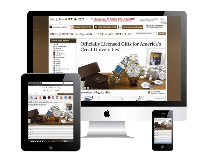 Mobile and Responsive design for several devices. MLaHart