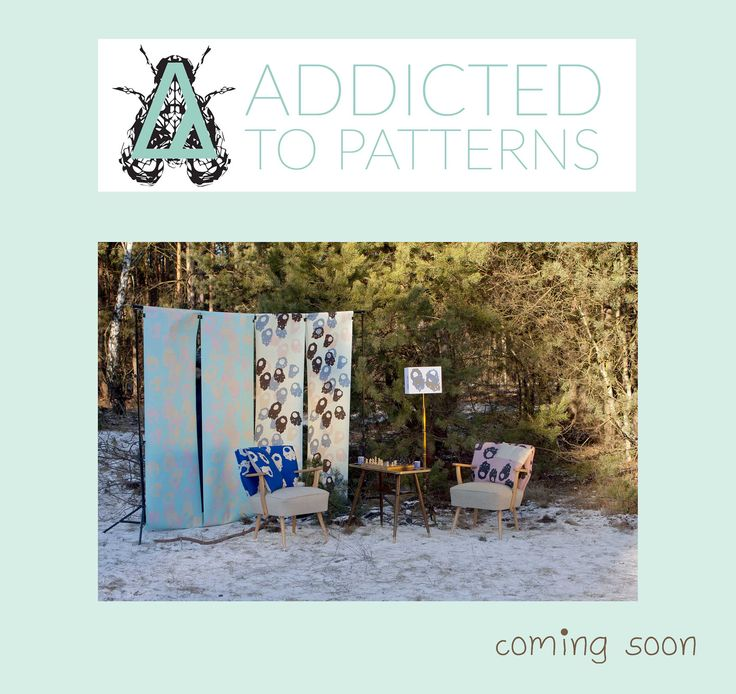 somewhere in the forest in the middle of winter... ADDICTED TO PATTERNS - playful interiors