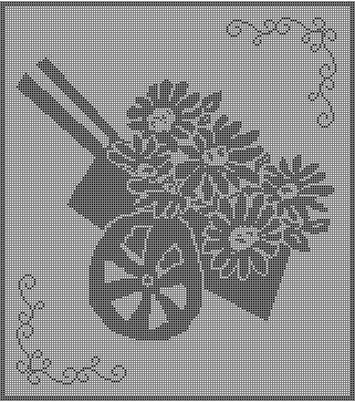 Free Pattern: Daisies | WIPs 'N Chains