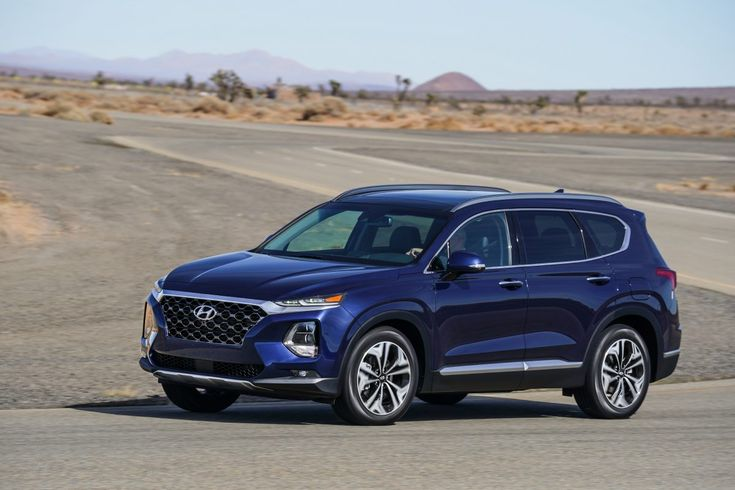 new hyundai santa fe makes its united states debut at the nyias 2018 drive ride worldwide. Black Bedroom Furniture Sets. Home Design Ideas