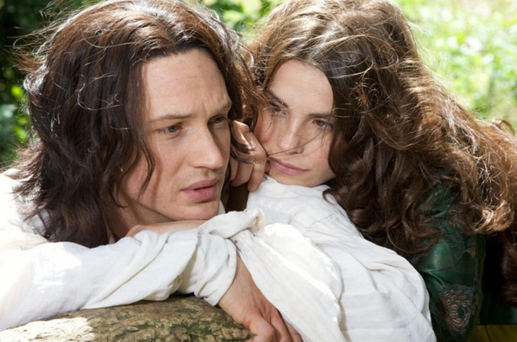 Heathcliff and Catherine of Wuthering Heights 2009 PBS adaptation.
