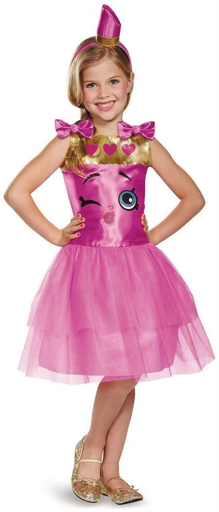 PartyBell.com - #Shopkins Lippy Lips Child Costume