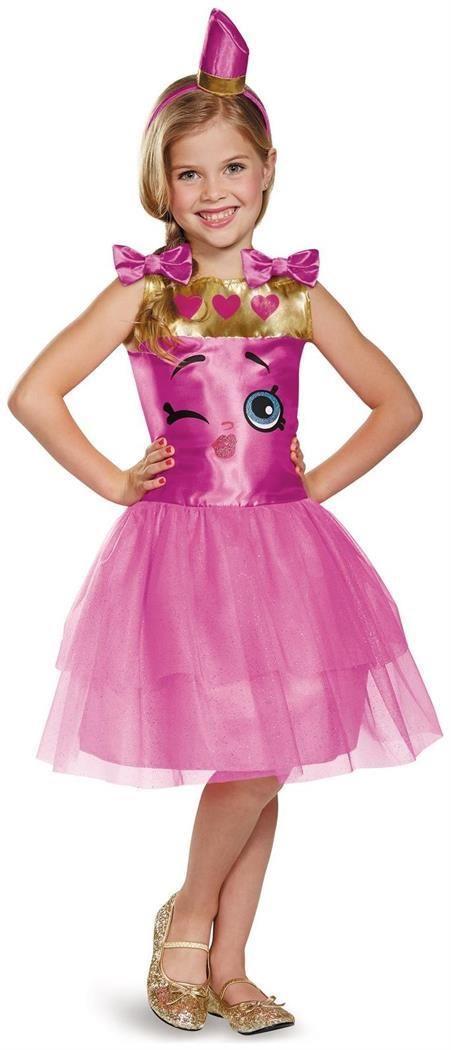PartyBell.com - #Shopkins Lippy Lips Child Costume