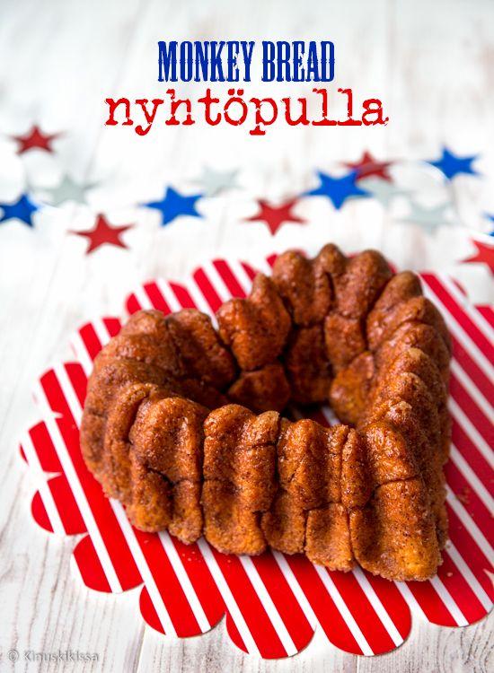 Monkey bread on makea ja tahmea, kakun muotoon leivottu pulla. Se koostuu sormin syötävistä, paistetuista taikinanpaloista, jotka on kieritelty kanelisokerissa.