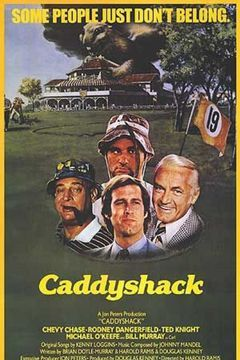 """Caddyshack, a 1980 sports comedy,  has garnered a large cult following and has been hailed by ESPN and Time magazine as one of the funniest sports movies of all time. As of 2010, Caddyshack has been televised on the Golf Channel as one of its """"Movies That Make the Cut.""""  In 2000, Caddyshack was placed at #71 on AFI's list of the 100 funniest American films. This film is also #2 on Bravo's """"100 Funniest Movies""""."""