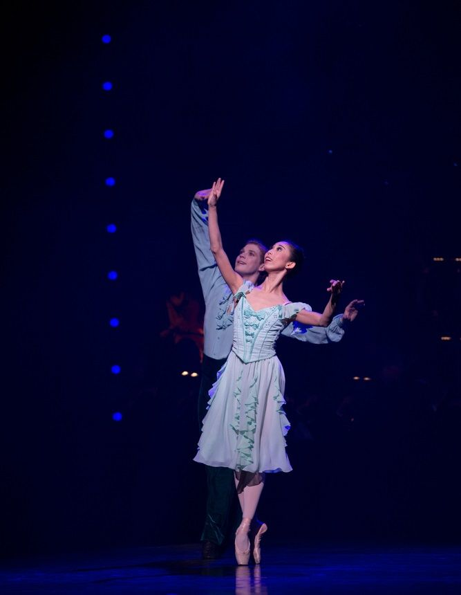 Someone to Watch Over Me in Queensland Ballet's Strictly Gershwin  Photo David Kelly
