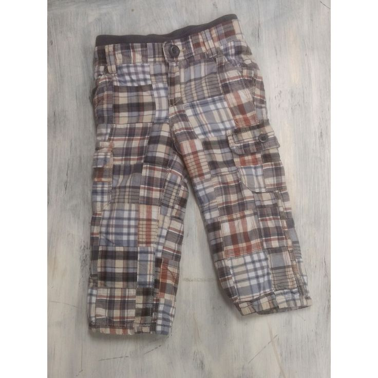 Baby Gap Patchwork Pants- 18-24m