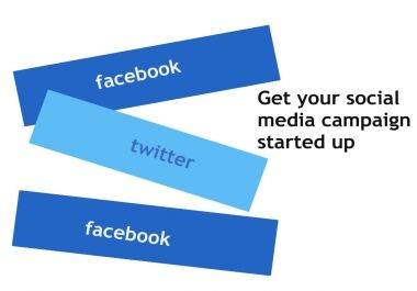 give your website 20 facebook likes and 15 tweets