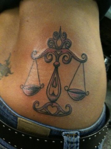 Zodiac Tattoos: Libra | MadSCAR