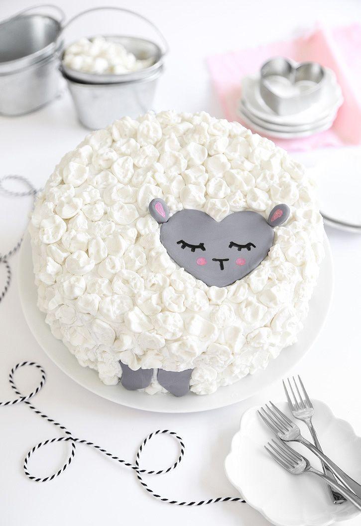 Love Ewe Coconut Cake (vegan) | Sprinkle Bakes