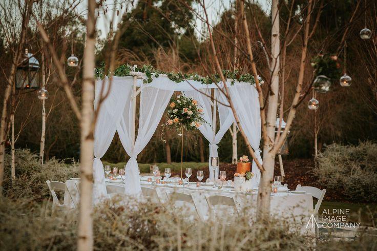 Romantic, enchanted garden photoshoot http://www.wanakaweddingflowers.co.nz