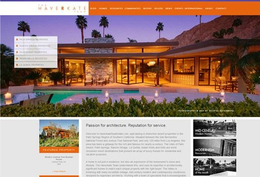 Website Real Estate Desain Terbaik - The Haverkate Group - Rancho Mirage, CA