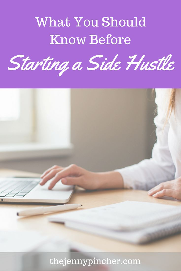 Side hustles are a great way to earn extra income from doing what you love! Learn exactly what you need to know before getting started. via @thejennypincher