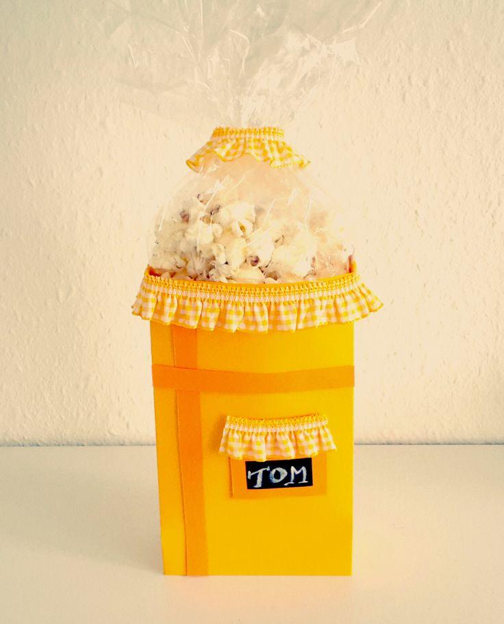 7 best popcornt ten selber basteln images on pinterest. Black Bedroom Furniture Sets. Home Design Ideas