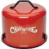 little red portable campfire.  How cute and handy is this?? want to see what's under the lid?