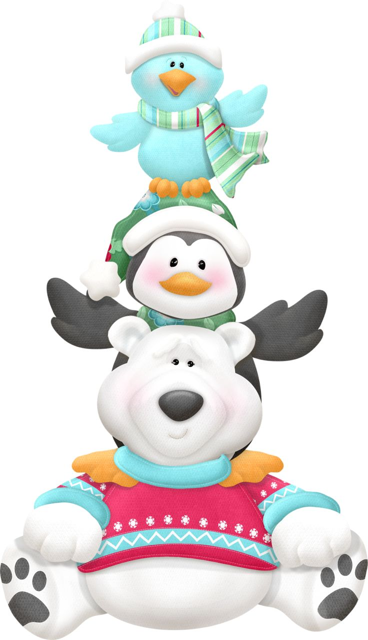 77 best images about clip art winter on pinterest for Christmas pictures of baby animals