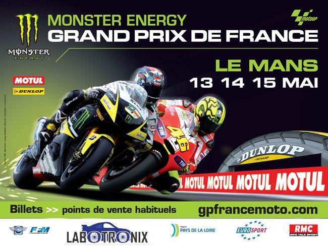 Labotronix sponsorise le grand prix de France Moto GP