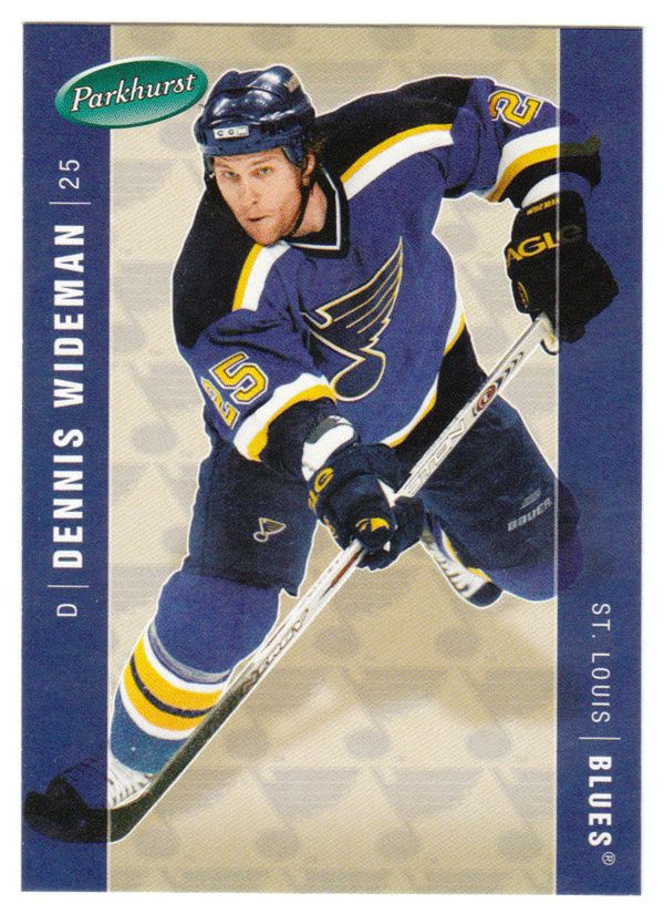 Dennis Wideman RC # 429 - 2005-06 Parkhurst Hockey