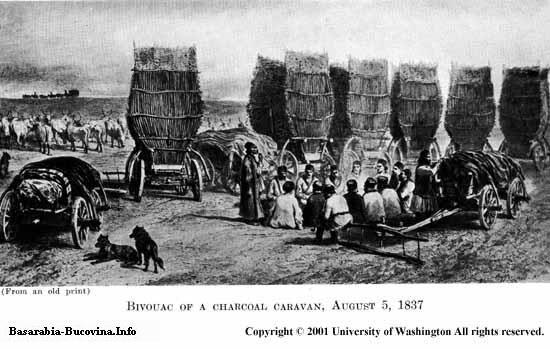 10 Charles Upson Clark Bessarabia - Basarabia Care Bivuac 1837