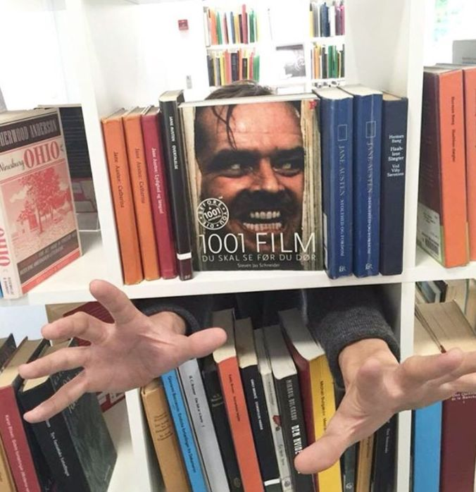 'Here is Johnny' and other great bookfaces   The Library Lab