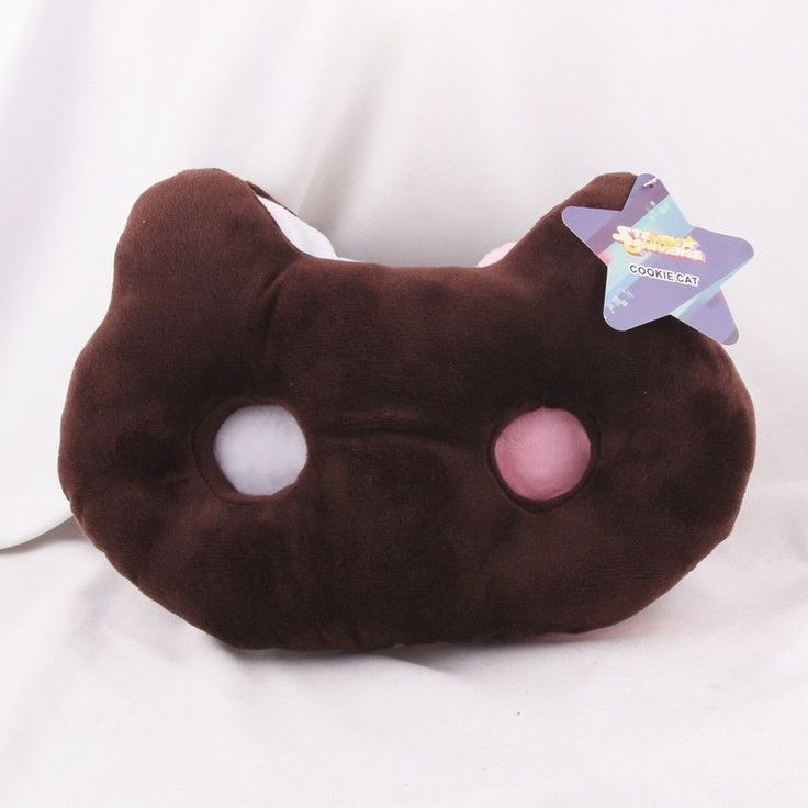 Steven Universe Cookie Cat Plush Pillow Stuffed Toy For kids Gift - Features:Movie & TV,Stuffed & Plush - Age Range:12-15 Years,8-11 Years,5-7 Years,Grownups Warning:no Dimensions:25CM Filling:PP Cott