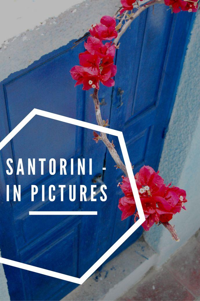 A photo essay of Santorini, Greece.