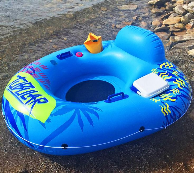 Similar to the Coolest Cooler and most likely a source of inspiration, the Tubular Tube is a floating water tube that allows you to lounge and float like a boss with a bunch of cool features. The Tubu...