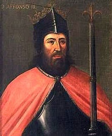 Afonso III (1210 - 1279). Son of Afonso II and Urraca of Castile. He married twice and had children.