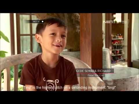 An Indonesian TV parenting program about Gede Semara, Balinese young composer and his family archaic gamelan Selonding group at Mekar Bhuana family based centre.