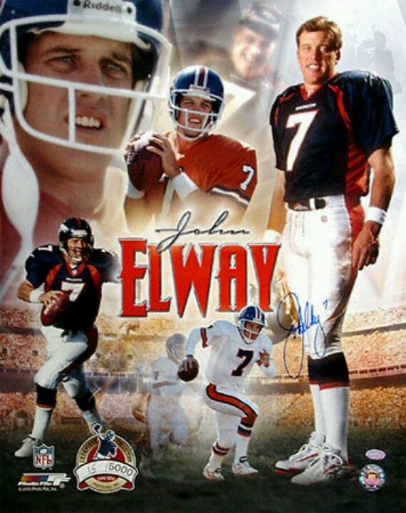 John Elway... Denver Broncos Quarterback 1983-1999, 2 Time Super Bowl Champion.