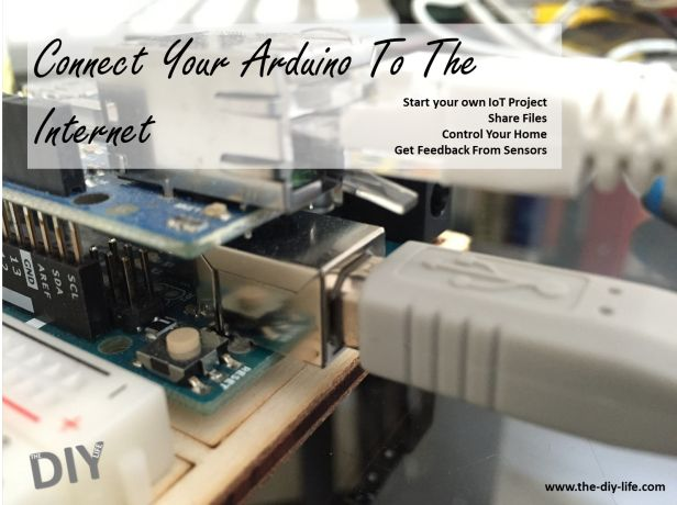 Connect your Arduino to the internet and build you own web server, home automation system, sensor feedback etc.