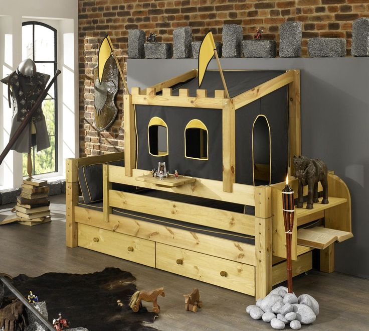 viac ne 1000 n padov oabenteuerbett na pintereste spielbett loftov postele a hochbett kinder. Black Bedroom Furniture Sets. Home Design Ideas