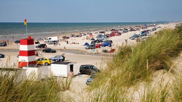 A day by the beach in Blokhus, Denmark
