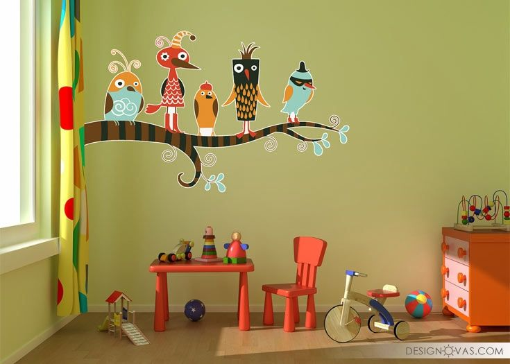 Bird themed Furniture and Decor. 40 pieces of creativity