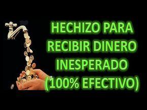 HECHIZO PARA RECIBIR DINERO INESPERADO (100% EFECTIVO) - YouTube