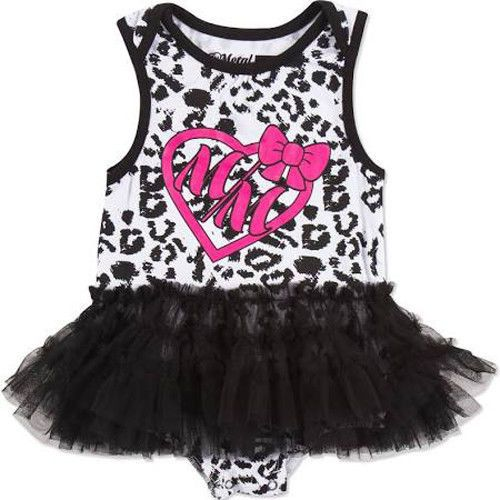Metal Mulisha WILD CHILD BABY TODDLER ONESIE with Tutu & All Over Animal Print #MetalMulisha #Everyday
