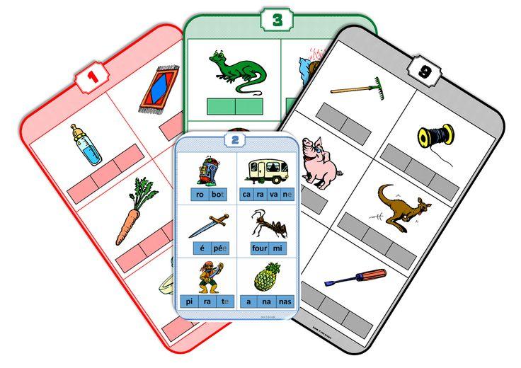 Des jeux sur la phonologie faits par une instit! PLein d'autres ressources sur ce blog, notamment en mathématiques..