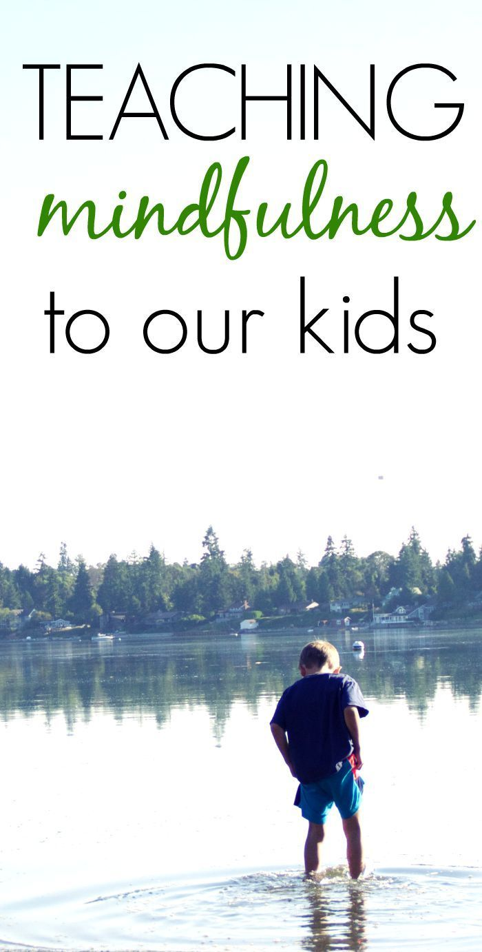 Teaching Mindfulness to our Kids - Six Awesome Ideas