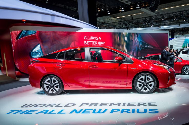 Unveiled in Frankfurt, this is the new Toyota Prius. Get the details here: http://blog.toyota.co.uk/new-toyota-prius-frankfurt. #Toyota #Prius #Hybrid #Future #IAA2015